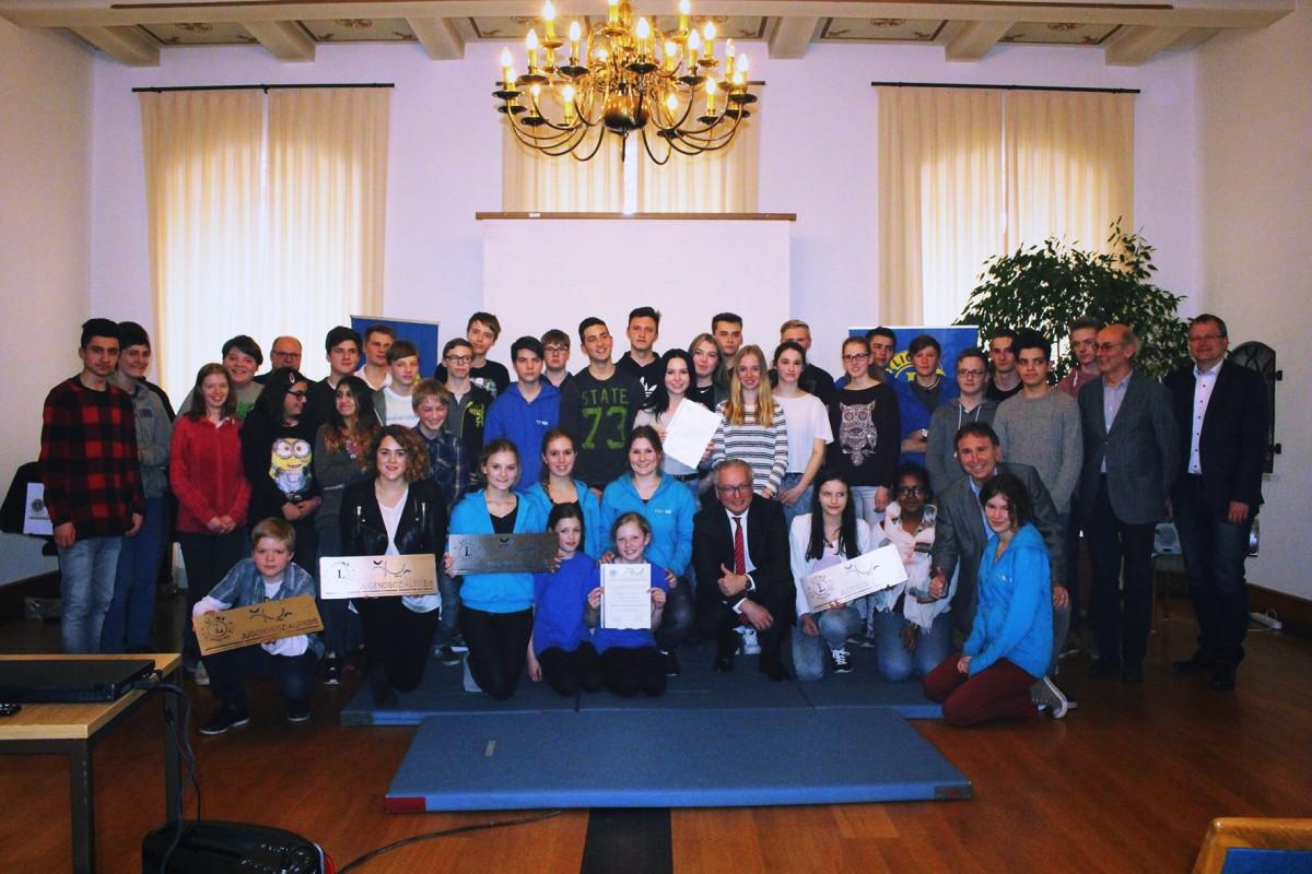 Lions Club kürt jugendliches Engagement mit dem Jugendsozialpreis