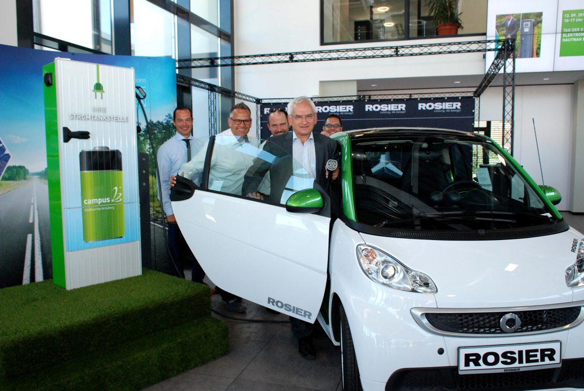 Verkehr in Arnsberg soll bald unter Strom stehen: E-Mobilität bleibt Thema bei den Stadtwerken Arnsberg
