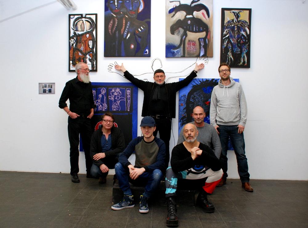 """""""Der Bogen"""" spielt künstlerisch mit Sehnsüchten und Ängsten: Jahresausstellung """"Am Rande der Nacht"""" wird Sonntag eröffnet"""