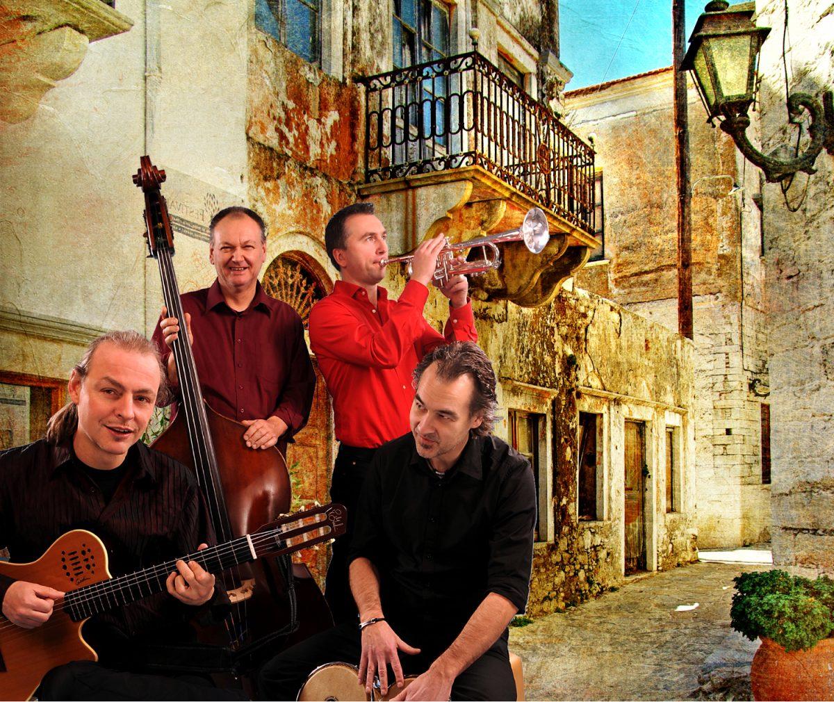 """Jazz-Club Arnsberg auf Ausflug in die Karibik: """"Tropical Turn Quartett"""" spielt Freitag in der Schmiede"""