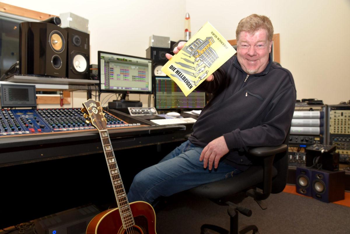 Musiker Martin Meinschäfer erzählt seine erste schräge Krimi-Story