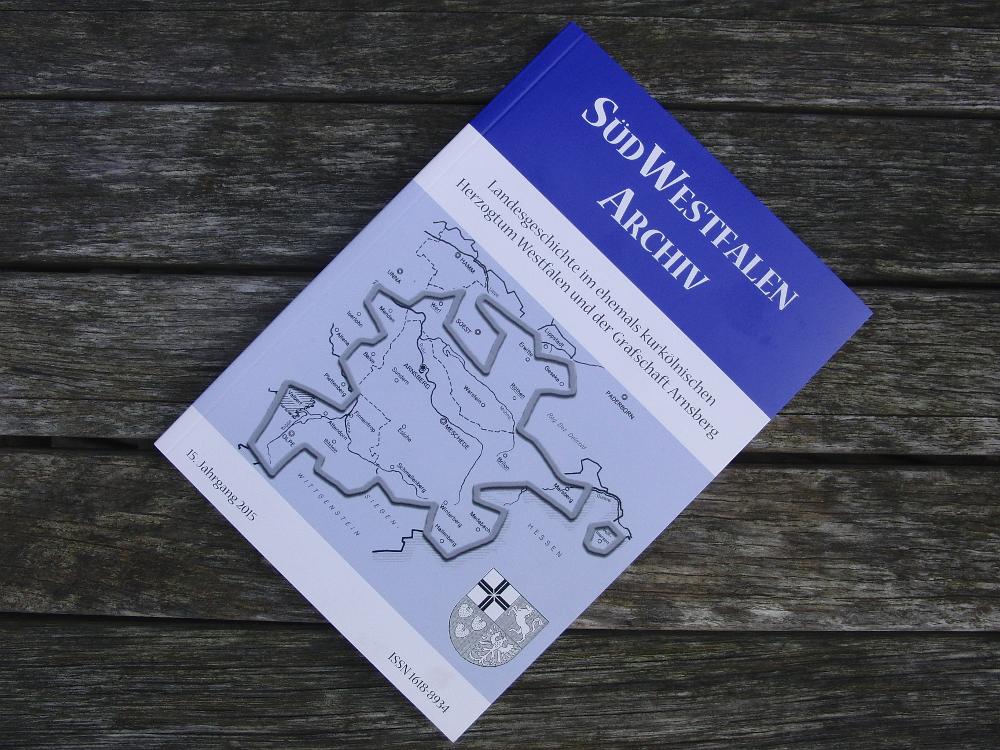 SüdWestfalenArchiv (Nr. 15) blickt in die Westfälische Geschichte zurück